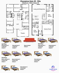 This is the detailed floor plan of this home!