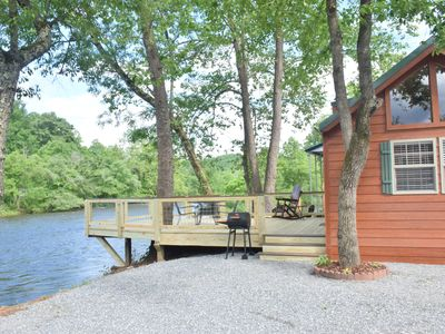 Photo for New!!! Tiny House Cabin Adventure on the River!!! Wifi and Firepit/free wood!!!