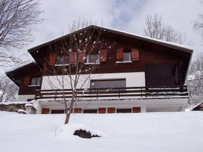 Photo for Grand Chalet 300 m2 - South facing - 18/22 Pers - 8 Ch - Domaine Ski Portes Soleil