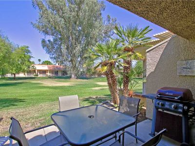 Photo for PL711 - Palm Desert Resort CC - Darling Renovated 2BR/1BA with Extended Patio on Golf Course!