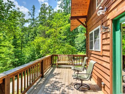 Photo for ManeStay - Pet-Friendly, Equestrian Cabin in Red River Gorge - Hot Tub & WiFi
