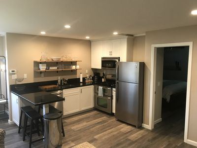 New kitchen/dining area