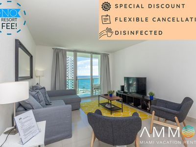 Photo for Ocean view! The Tides 8th floor on Hollywood Beach by AmmosFL