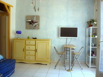 Photo for STUDIO 5 MIN FROM THE SEA AND THE BEACH OF SAND 5 MIN FROM MARINA BAIE DES ANGES