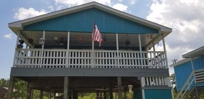 Photo for Aqua House, Waterfront Bayou Vacation Home, Pet friendly, family friendly