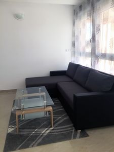 Photo for First time use 2018 * Great new apartment # 3 300m from the beach + terrace