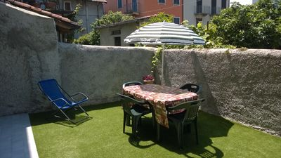 Photo for Residenza Silvana - Apartment B- Garden in Suna with parking