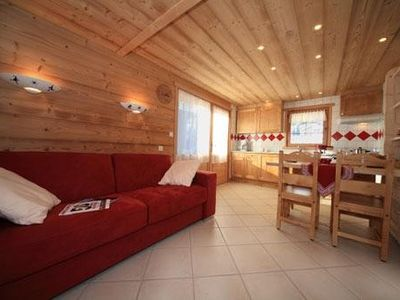 Photo for CUTE 2 ROOMS LOCATED AT THE FOOT RUNWAY CHINAILLON LE GRAND BORNAND