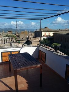 Photo for lovely apartment with a newly renovated terrace in the historic center