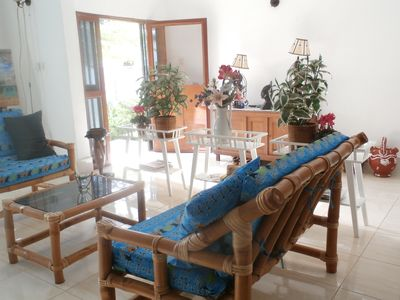 Photo for Room with kingbed and private bathroom in bed and breakfast with large pool.