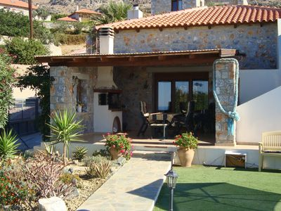 Photo for Charming Villa in Agia Paraskevi with Swimming Pool