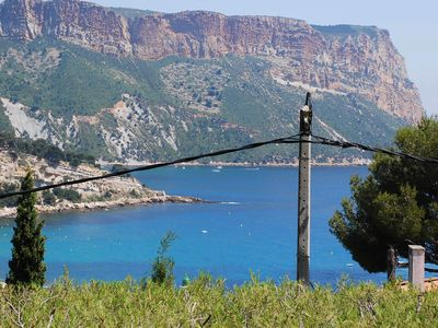 Photo for Nice T2 sea view and Cap Canaille, near beaches, coves and center