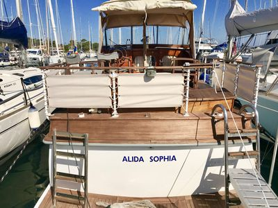 Photo for YACHT VINTAGE 15 M ALIDA SOPHIA