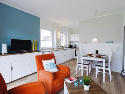 Photo for Modern apartment HOME BY THE SEA (54sqm) for 4 people in Büsum