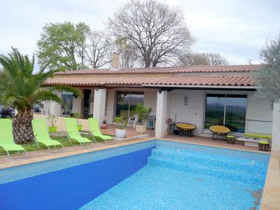 Photo for Holiday villa with private pool near the Ardèche Gorges