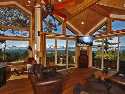 Photo for Amazing Views of Lake, Mts, and Heavenly  -  Private. Luxury Retreat - Sleeps 14