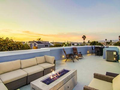 Photo for NEW LISTING! | Fully Remodeled Beach House w/ Large Roof Deck and Beach Views