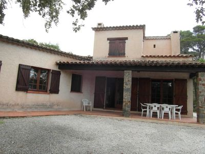 Photo for Independent villa on 2 levels with small sea view and large garden