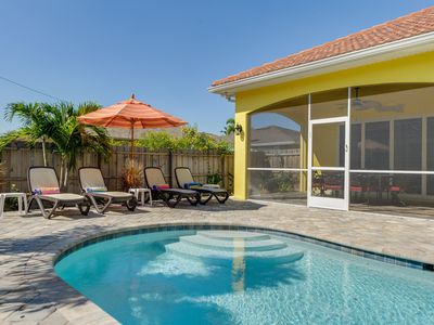 Photo for Luxury Pool Home on the 500 block of 92nd Ave in Naples Park * WALK TO BEACH *