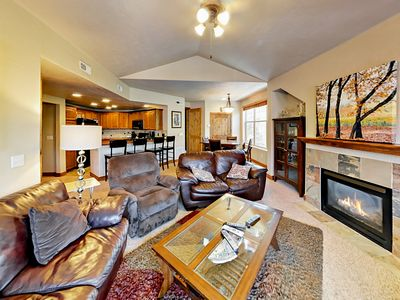 Photo for Fall Savings! Minutes to Slopes! 3BR Redstone w/ Fireplace & Balcony