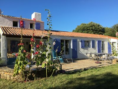 Photo for L'Ile D'Yeu Beautiful villa with large garden of 6000m2, 3 star rating, wifi