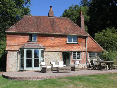 Photo for Magical 17th century cottage in a beautiful and secluded 8 acre estate