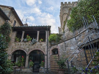 Photo for Experience a breathtaking holiday in a castle, loggia