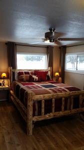 Photo for Cozy cottage with rustic charm. Ten miles from Glacier National Park