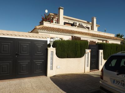 Photo for Luxury 3 bedroom villa close to Villamartin Plaza and Golf course.