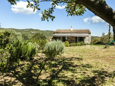 Photo for Small traditional house for 2. In the countryside, at 15 km from the beach