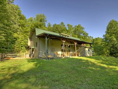 Photo for Spacious, Rustic cabin in the heart of the Aska Wilderness Area.