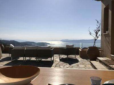 Photo for 2 villas together for an exceptional view with private pool