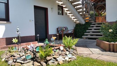 Photo for Renovated apartment in a good residential complex in Solms in the beautiful Lahn valley.