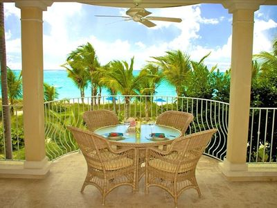 Photo for Magical Oceanfront Holiday at best location on Grace Bay Beach - 1 or 2 Bedroom