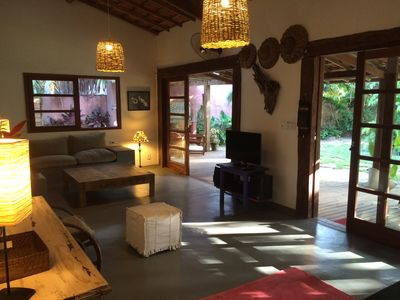 Photo for Beautiful house in the village of Barra Grande in charming street at 20m from the sea with 5 bedrooms