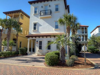 Photo for Beautiful Beach Home w/ Private Pool - WIFI -Gulf Views -150 yards to beach from Sandy Sea-nanigans!