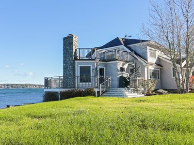 Photo for Family Friendly Shoreside 5BR w/ Island View, Near Boothbay Harbor & Downtown