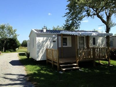 Photo for Camping La Fontaine *** - Mobile Home 3 Rooms 4 Persons 27 EVOL