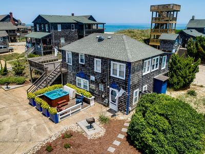 Photo for The Carriage House II (Lower) | 95 ft from the beach | Dog Friendly, Hot Tub