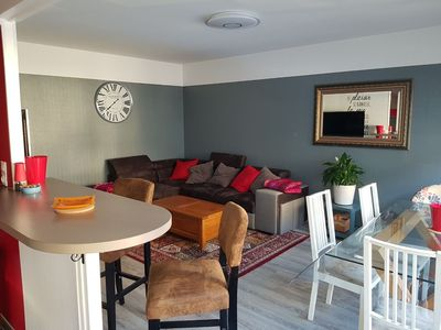 Photo for Center: two rooms luxury + cabin-child room -77m² + parking free