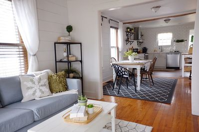 Roomy open concept home