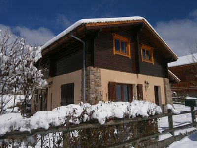 Photo for FONT-ROMEU INDEPENDENT CHALET T4 ALL COMFORT 6/8 pers. CLOSED GARDEN, SOUTH FACING
