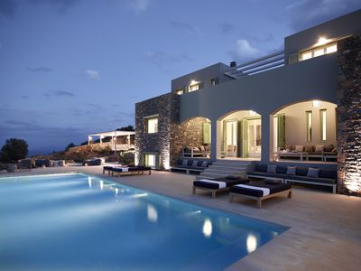 Photo for Luxurious 8 bedroom villa with amazing views for big families & parties
