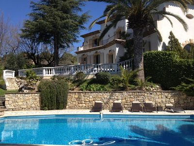 Photo for Elegant, Newly Renovated Riviera Villa 10 Min From Cannes!