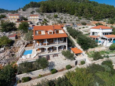 Photo for Villa with Swimming Pool,2x Jacuzzi,Terrace and Beautiful Sea View