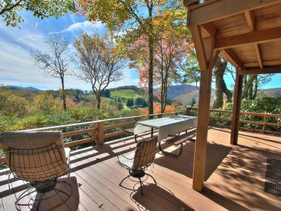 Photo for Smoky Mountain Paradise, Great View, Pet Friendly at Cataloochee