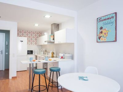 Photo for Modern apartment in the heart of Sitges