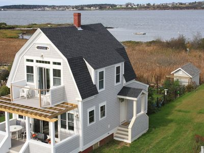 Photo for Seaside Cottage on Bailey Island with Views of Picturesque Mackerel Cove