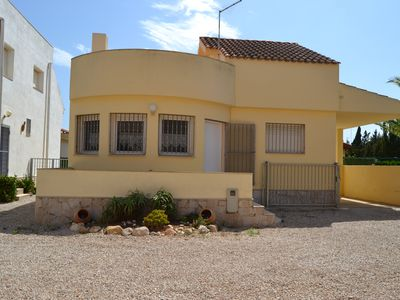 Photo for House with private pool 200 meters from the beach Riumar