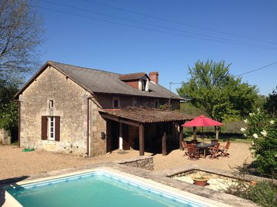 Lovely farmhouse with private small pool